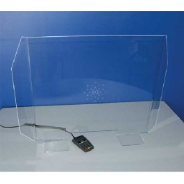 PROTECTION PLEXIGLASS AVEC PASSE DOCUMENT